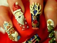 Độc đáo nghệ thuật làm đẹp móng tay của Nhật Bản
