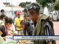 Mexico: Chế biến thức ăn chay từ thực phẩm dư thừa