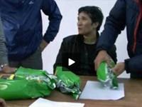 Bắt đối tượng mang 5kg ma túy đá giấu trong thùng loa