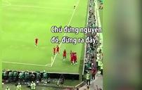 """Xem bóng đá bao lâu nay, bạn đã biết đến """"luật ăn mừng bàn thắng"""" này chưa?"""