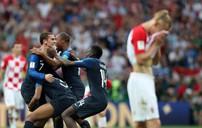ẢNH: Những khoảnh khắc đáng nhớ trong trận chung kết FIFA World Cup 2018