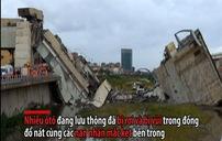Thảm kịch sập cầu ở Italy, hàng chục người thiệt mạng