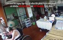 Cụ bà 86 tuổi bị người giúp việc đánh đập tàn nhẫn