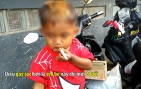 Cậu bé 2 tuổi hút 40 điếu thuốc lá/ngày gây sốc tại Indonesia
