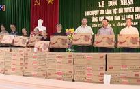 Trao tặng 50 chiếc ti vi cho các hộ nghèo tỉnh Hà Nam