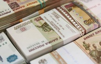 Đồng Ruble Nga sụt giá mạnh