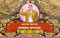 [INFOGRAPHIC] Vĩnh biệt Nhà vua Bhumibol Adulyadej - Vị quân vương được nhân dân Thái Lan tôn thờ