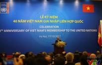 Thủ tướng Nguyễn Xuân Phúc dự Lễ kỷ niệm 40 năm Việt Nam gia nhập LHQ
