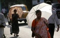 Nắng nóng khủng khiếp hơn 42 độ C ở Ấn Độ