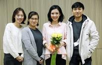 Giao lưu trực tuyến cùng MC Thùy Dương của Talk Vietnam