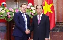 Chủ tịch nước tiếp Bộ trưởng Bộ Phát triển kinh tế Liên bang Nga