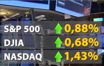 Chứng khoán Mỹ tăng điểm nhờ cổ phiếu ngân hàng hồi phục