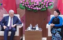 Chủ tịch Quốc hội tiếp Thủ tướng Thổ Nhĩ Kỳ