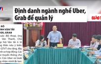 Định danh ngành nghề Uber, Grab để quản lý
