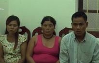 Bắt nhóm đối tượng bán trẻ em sang Trung Quốc