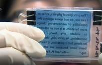 Giấy viết có thể tái sử dụng 80 lần