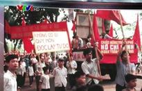 Hà Nội trong ngày đất nước thống nhất