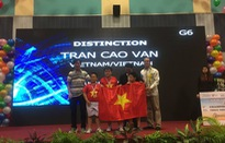 Học sinh Việt Nam giành chức vô địch Robothon quốc tế 2016