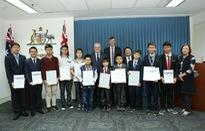 Học sinh Việt Nam đoạt giải cao trong cuộc thi toán học Australia