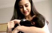 Bà mẹ trẻ Angelababy lần đầu khoe con trai cưng trên truyền hình