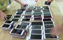 Thu giữ 86 chiếc iPhone lậu tại Hà Nội