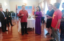 Kỷ niệm 55 năm quan hệ ngoại giao Việt - Lào tại Mông Cổ