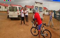 Sau Himalaya, người đàn ông tiếp tục đi vòng quanh Cuba bằng xe đạp