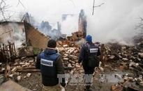 Nổ mìn ở miền Đông Ukraine, 2 nhân viên OSCE thương vong