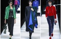 Chất liệu nhung lên ngôi trên sàn diễn Milan Fashion Week 2017