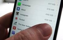"""Ứng dụng nào đang tốn """"không gian"""" nhất trên iPhone của bạn?"""