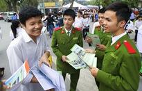 Học viện Cảnh sát nhân dân công bố điểm xét tuyển hồ sơ năm 2017
