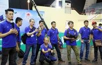 Những hình ảnh hậu trường hiếm người biết tại vòng loại Robocon Việt Nam 2017