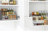 Ý tưởng độc đáo cho gian bếp nhỏ hẹp