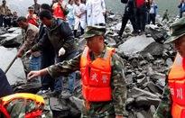 Nỗ lực cứu hộ vụ lở núi tại Trung Quốc
