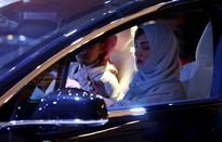 Phụ nữ Saudi Arabia lần đầu tiên tham dự triển lãm xe hơi