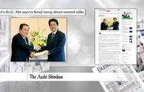 """Báo giới Nhật Bản và Hàn Quốc quan tâm tới động thái """"ngoại giao con thoi"""""""