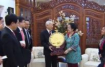 Tổng Bí thư tiếp Chủ tịch Đảng Dân chủ đấu tranh Indonesia