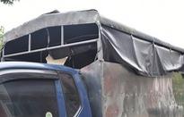 Bắt giữ xe tải có thiết kế khoang đặc biệt vận chuyển trái phép 150 bánh heroin