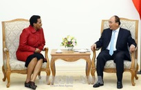 Thủ tướng tiếp Đại sứ Nam Phi chào từ biệt
