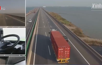 Trung Quốc giới thiệu xe tải hoàn toàn tự lái