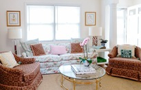 Biến không gian nhà ở sinh động bằng nhiều vật dụng mang họa tiết