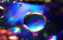 Ngỡ ngàng với ảnh chụp bong bóng xà phòng và nước đẹp đến khó tin