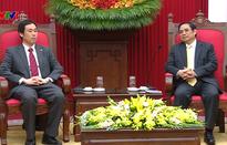 Trưởng Ban Tổ chức Trung ương Phạm Minh Chính tiếp Đoàn đại biểu Đảng Cộng sản Nhật Bản