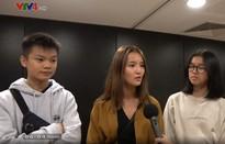 Thiếu niên gốc Việt tại Pháp tham gia dự án phim vì hòa bình của UNESCO