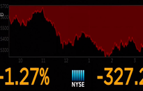 Chứng khoán Mỹ tiếp tục sụt giảm mạnh