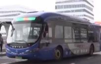 Xe buýt không người lái lăn bánh tại Trung Quốc