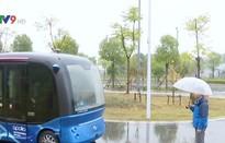 Trung Quốc thử nghiệm xe bus không người lái thông minh
