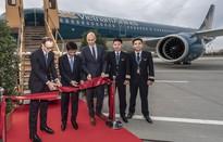 Vietnam Airlines nhận máy bay thế hệ mới tại Đức