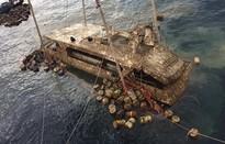 Thái Lan trục vớt tàu chở du khách Trung Quốc bị chìm