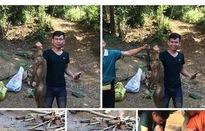 Xác định nam thanh niên giết khỉ dã man rồi đăng ảnh lên Facebook
